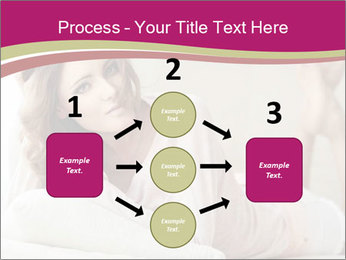 Home portrait of beautiful young woman PowerPoint Template - Slide 92