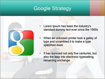 Masseuse treating clients PowerPoint Templates - Slide 10