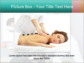 Masseuse treating clients PowerPoint Template - Slide 15