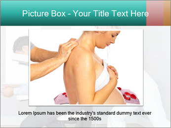 Masseuse treating clients PowerPoint Template - Slide 16