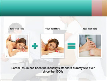 Masseuse treating clients PowerPoint Template - Slide 22