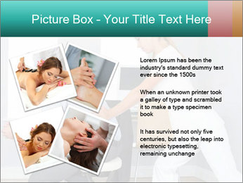 Masseuse treating clients PowerPoint Templates - Slide 23