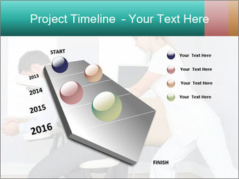 Masseuse treating clients PowerPoint Template - Slide 26