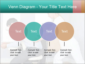 Masseuse treating clients PowerPoint Templates - Slide 32