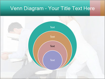 Masseuse treating clients PowerPoint Templates - Slide 34