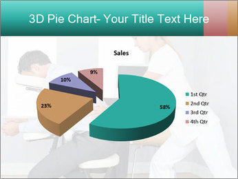 Masseuse treating clients PowerPoint Templates - Slide 35
