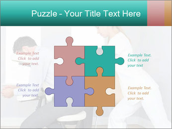 Masseuse treating clients PowerPoint Templates - Slide 43