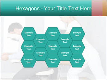Masseuse treating clients PowerPoint Templates - Slide 44