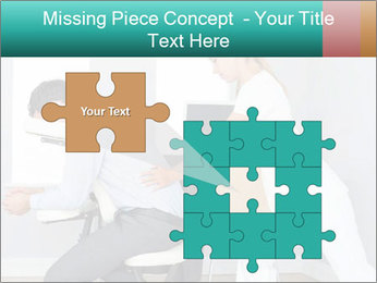 Masseuse treating clients PowerPoint Templates - Slide 45