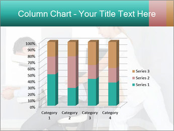 Masseuse treating clients PowerPoint Templates - Slide 50