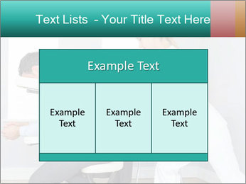Masseuse treating clients PowerPoint Templates - Slide 59