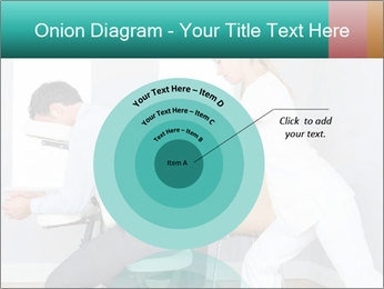 Masseuse treating clients PowerPoint Template - Slide 61