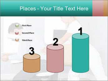 Masseuse treating clients PowerPoint Templates - Slide 65