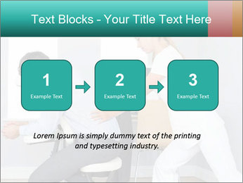 Masseuse treating clients PowerPoint Templates - Slide 71