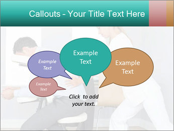 Masseuse treating clients PowerPoint Templates - Slide 73