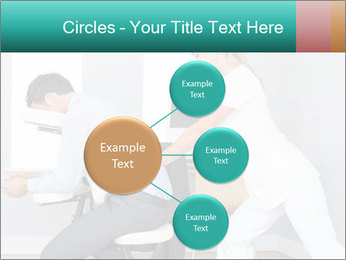 Masseuse treating clients PowerPoint Templates - Slide 79