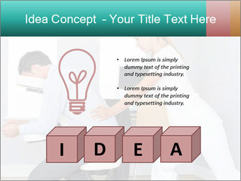 Masseuse treating clients PowerPoint Templates - Slide 80