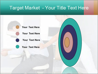 Masseuse treating clients PowerPoint Template - Slide 84