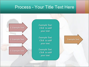 Masseuse treating clients PowerPoint Template - Slide 85