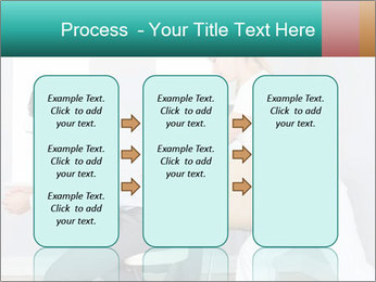 Masseuse treating clients PowerPoint Templates - Slide 86