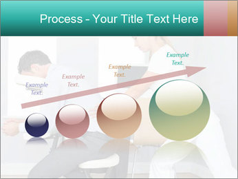Masseuse treating clients PowerPoint Templates - Slide 87