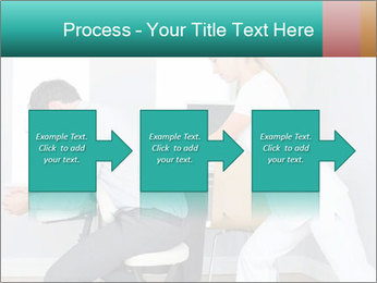Masseuse treating clients PowerPoint Template - Slide 88