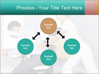 Masseuse treating clients PowerPoint Template - Slide 91