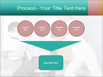 Masseuse treating clients PowerPoint Templates - Slide 93