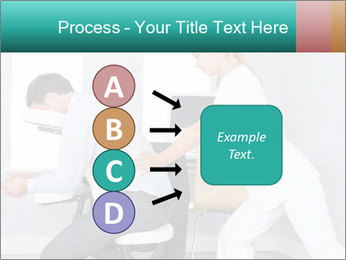Masseuse treating clients PowerPoint Templates - Slide 94