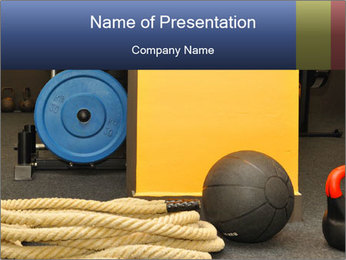 Fitness and CrossFit PowerPoint Template