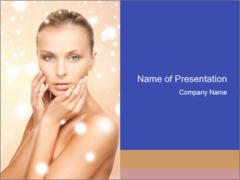 Health and spa PowerPoint Template
