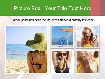Severely burned skin PowerPoint Template - Slide 19
