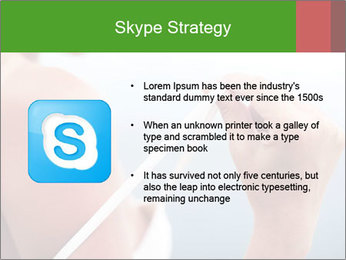 Severely burned skin PowerPoint Template - Slide 8