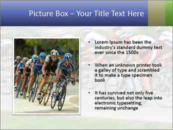 Bicycle PowerPoint Template - Slide 13