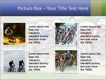 Bicycle PowerPoint Template - Slide 14
