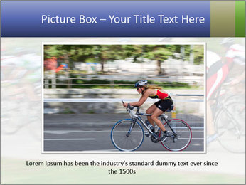 Bicycle PowerPoint Template - Slide 15