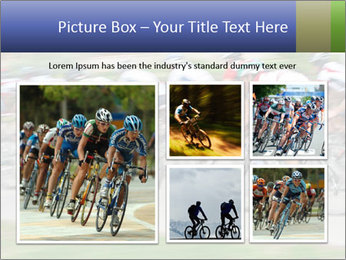 Bicycle PowerPoint Template - Slide 19