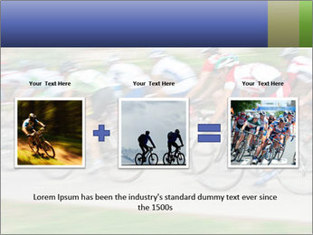 Bicycle PowerPoint Template - Slide 22