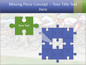 Bicycle PowerPoint Template - Slide 45