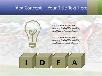 Bicycle PowerPoint Template - Slide 80