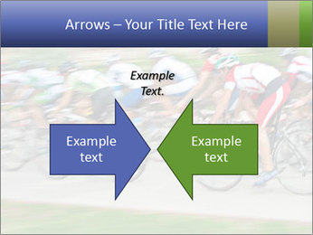 Bicycle PowerPoint Template - Slide 90