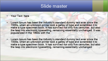 Bicycle PowerPoint Template - Slide 2