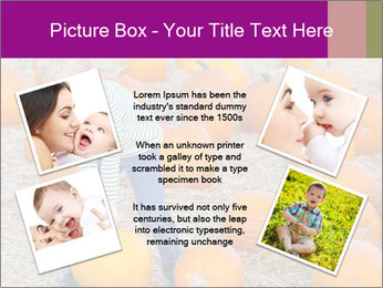 Cute positive boy PowerPoint Template - Slide 24