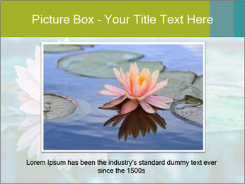 Beautiful Pink Lotus PowerPoint Template - Slide 16