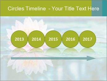Beautiful Pink Lotus PowerPoint Template - Slide 29