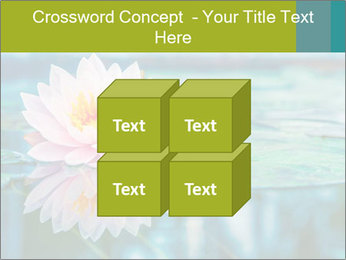 Beautiful Pink Lotus PowerPoint Template - Slide 39