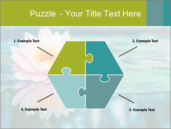 Beautiful Pink Lotus PowerPoint Template - Slide 40