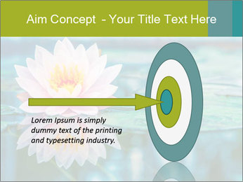 Beautiful Pink Lotus PowerPoint Template - Slide 83
