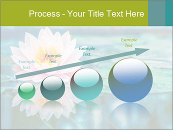 Beautiful Pink Lotus PowerPoint Template - Slide 87