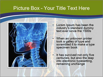 Medical nervous system PowerPoint Template - Slide 13
